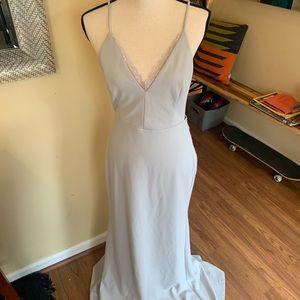 Lulu's full length maxi dress